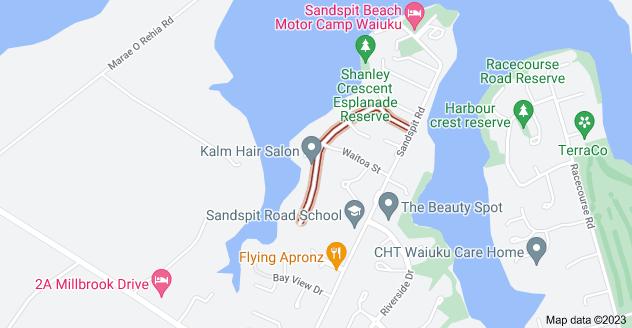 Location of Elsie Drive