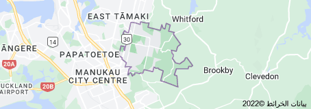 Location of Flat Bush
