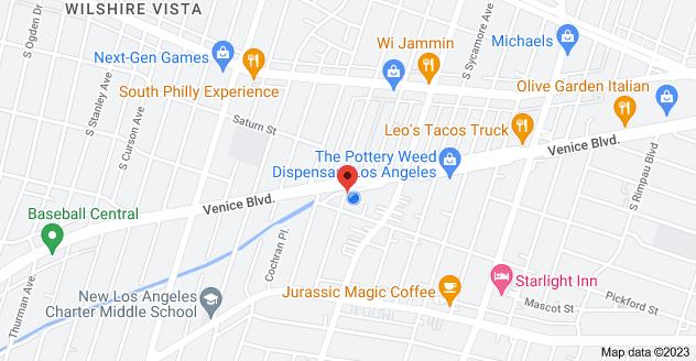 Map of 5160 Venice Blvd, Los Angeles, CA 90019