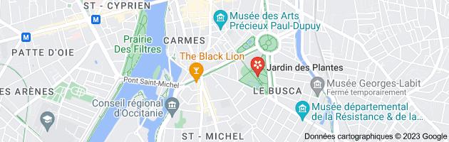 Boutiques jardin des Plantes Toulouse