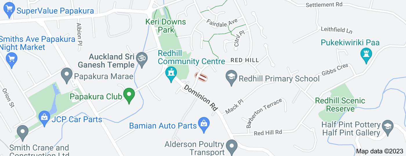 Location of Ariki Place