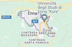 Mappa di: Enna Italia