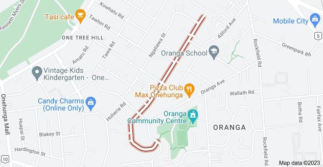 Location of Paihia Road