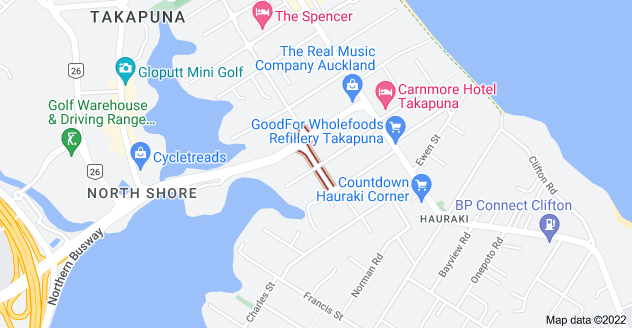 Location of Eldon Street