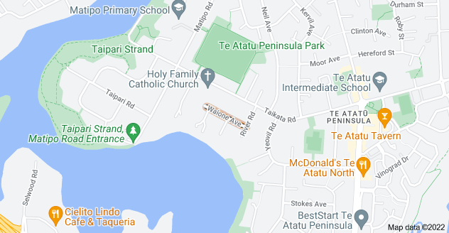 Location of Waione Avenue