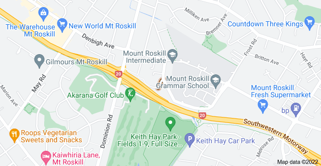 Location of Bristol Road