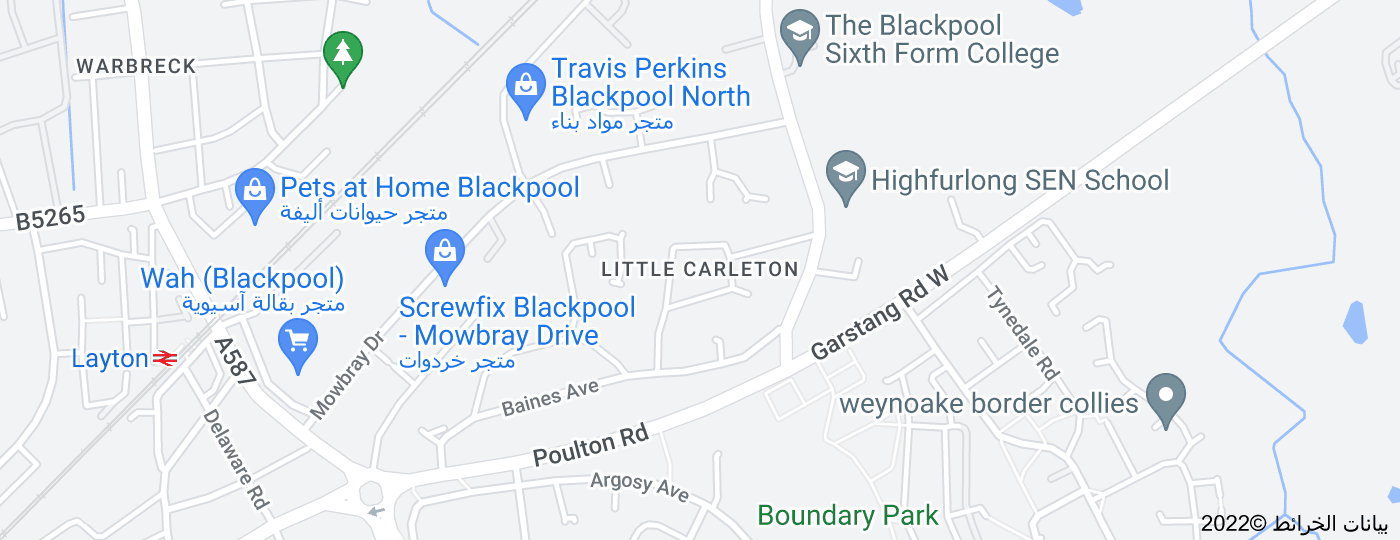 Location of Little Carleton
