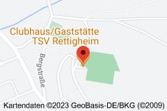 Karte von Clubhaus TSV Rettigheim