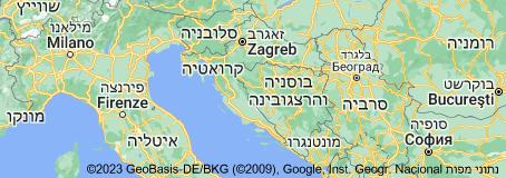 Location of קרואטיה