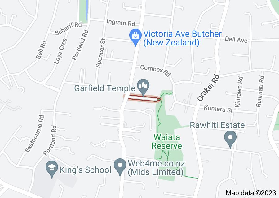Location of Waimea Lane