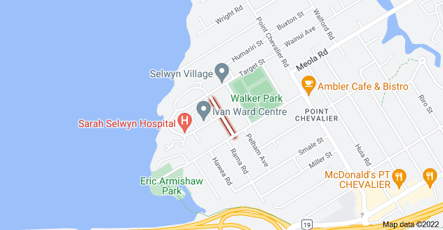 Location of Maranui Avenue