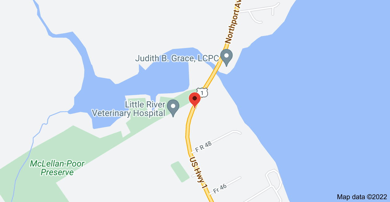 Map of 1436 Atlantic Hwy, Northport, ME 04849