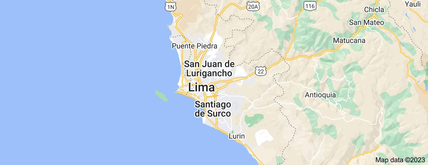 Location of Lima