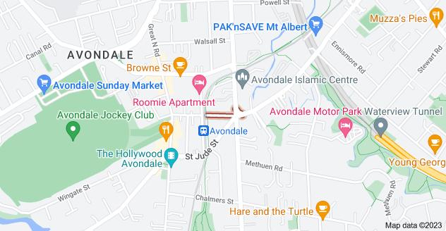 Location of Crayford Street