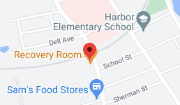 Map for Recovery Room Restaurant
