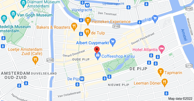 Map of Eerste van der Helststraat 62, 1073 VX Amsterdam