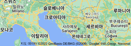 Location of 크로아티아