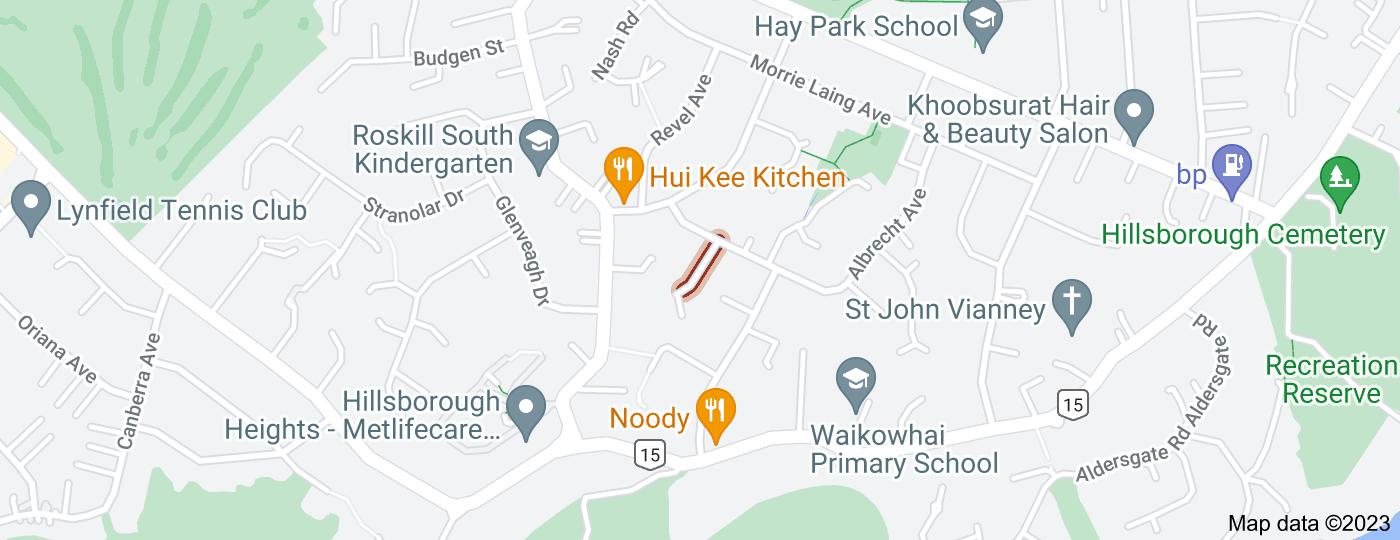 Location of Drew Street