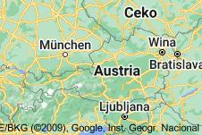 Location of Austria