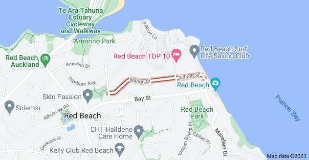 Location of Walton Street