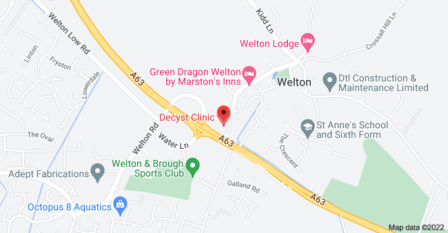 Map of 1 Cowgate, Welton, Brough HU15 1NB