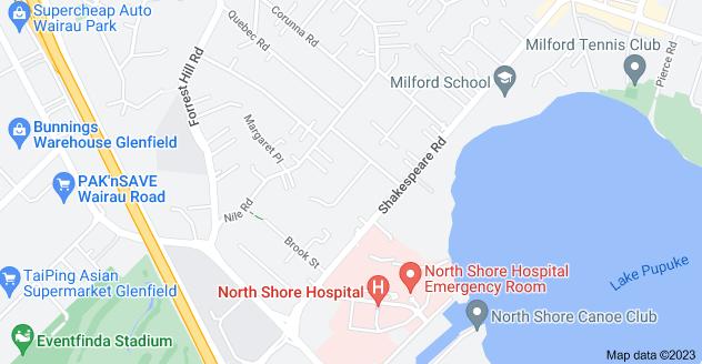 Location of Napoleon Avenue