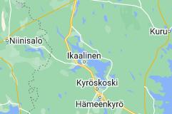 Map of Ikaalinen