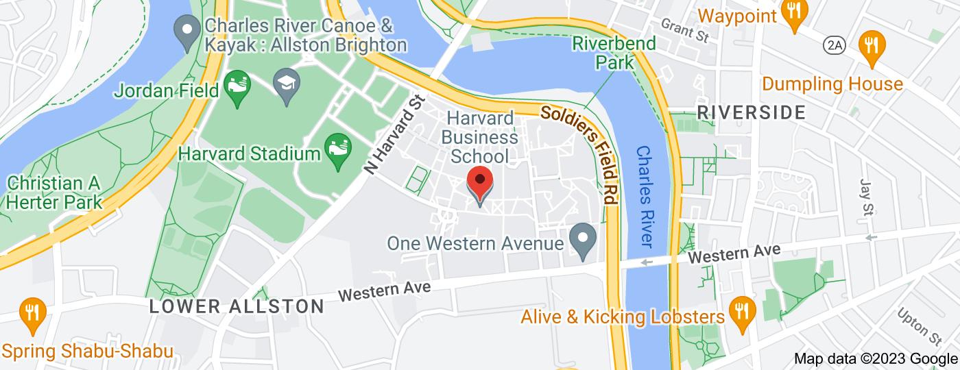 Location of Harvard Business School
