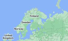 Location of Finland