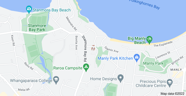 Location of Manly Heights