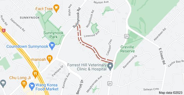 Location of Blakeborough Drive