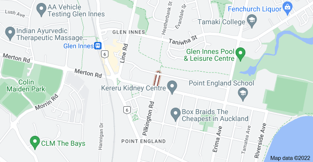 Location of Dalton Street