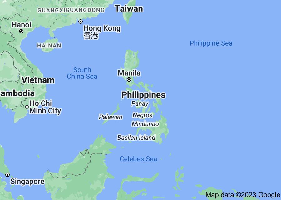 Location of Philippines