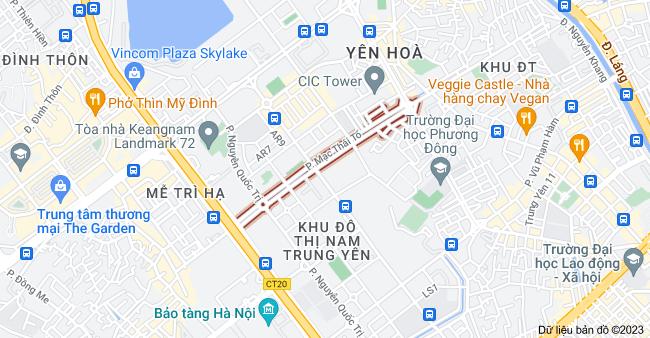 Bản đồ của Mạc Thái Tổ, Hà Nội