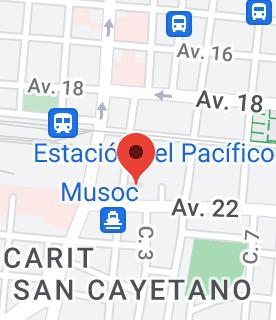 Mapa de Escuela Ricardo Jiménez Oreamuno