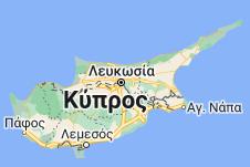 Χάρτης του/της Κύπρος