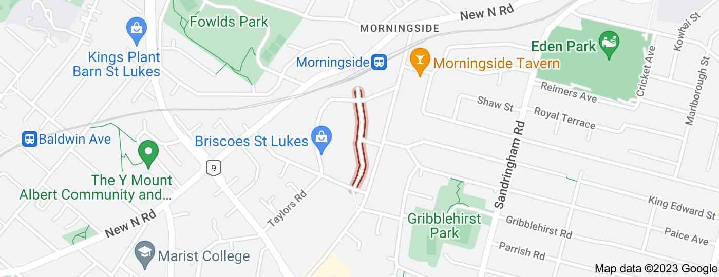 Location of Gordon Road