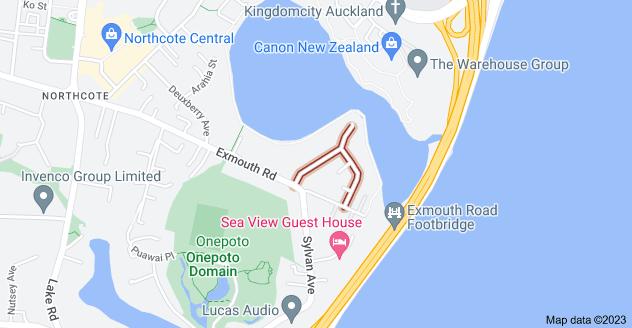 Location of McBreen Avenue