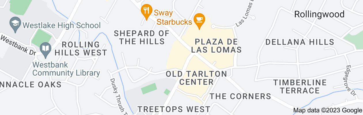 Map of private investigator Austin, Texas