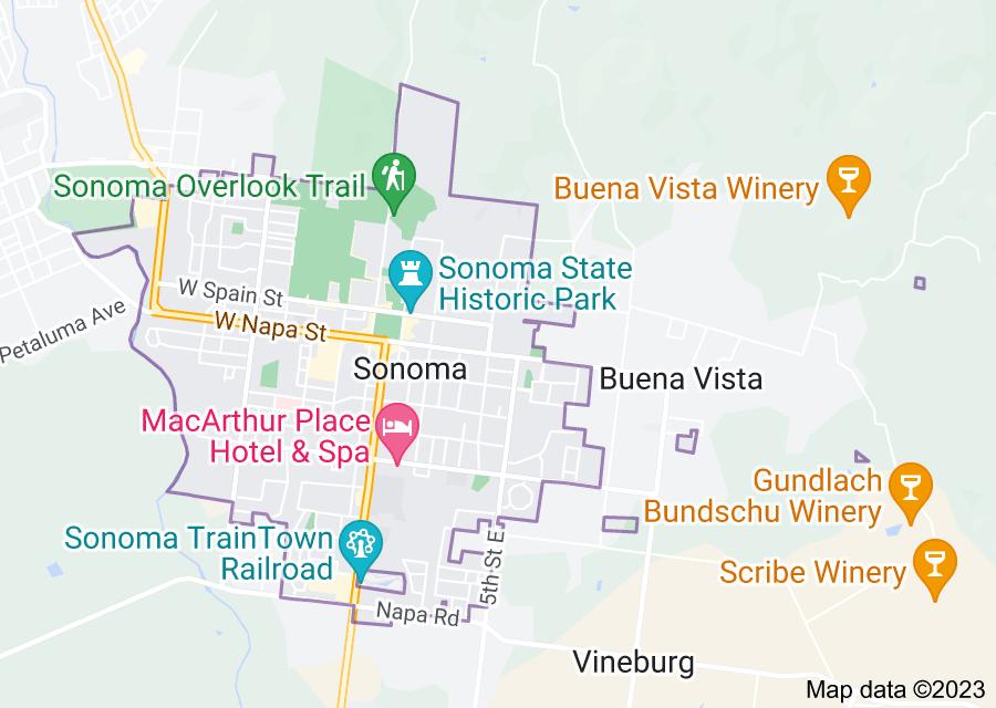 Location of Sonoma