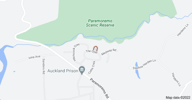Location of Cahill Place