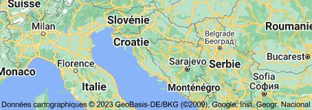 Location of Croatie