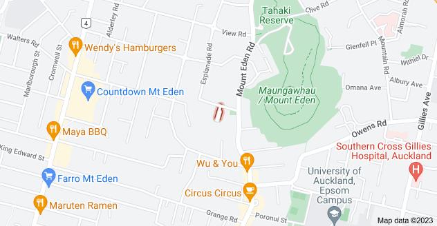 Location of Bourne Street