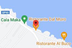 Map of Ristorante Dal Moro