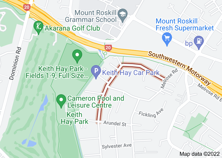 Location of Stamford Park Road