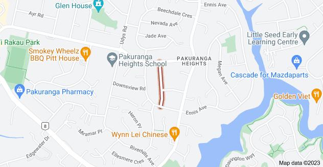 Location of Alton Terrace