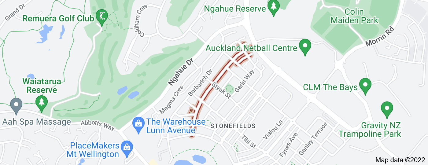 Location of Searle Street