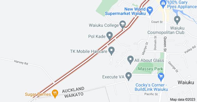 Location of Constable Road