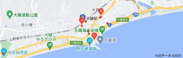大磯駅 有料駐車場の地図