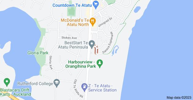 Location of Landmark Drive